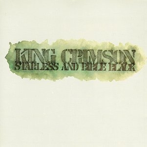 King Crimson Starless and Bible Black Cover Art