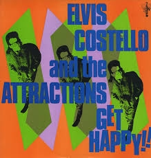 Elvis Costello & The Attractions Get Happy!! cover art
