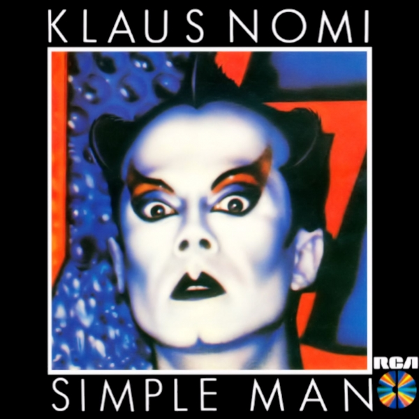 Klaus Nomi Simple Man cover art