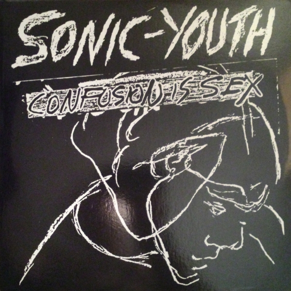 Sonic Youth Confusion Is Sex cover art