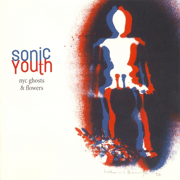 Sonic Youth NYC Ghosts & Flowers cover art