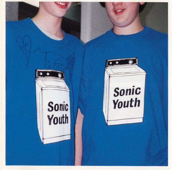 Sonic Youth Washing Machine cover art