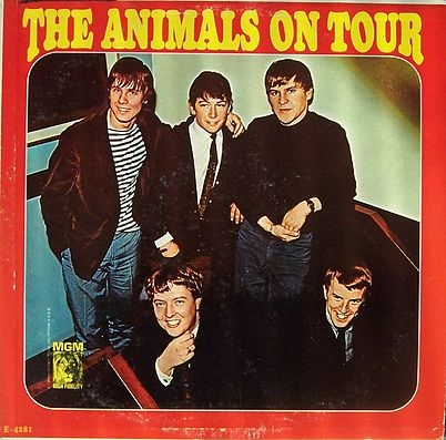 The Animals The Animals on Tour cover art