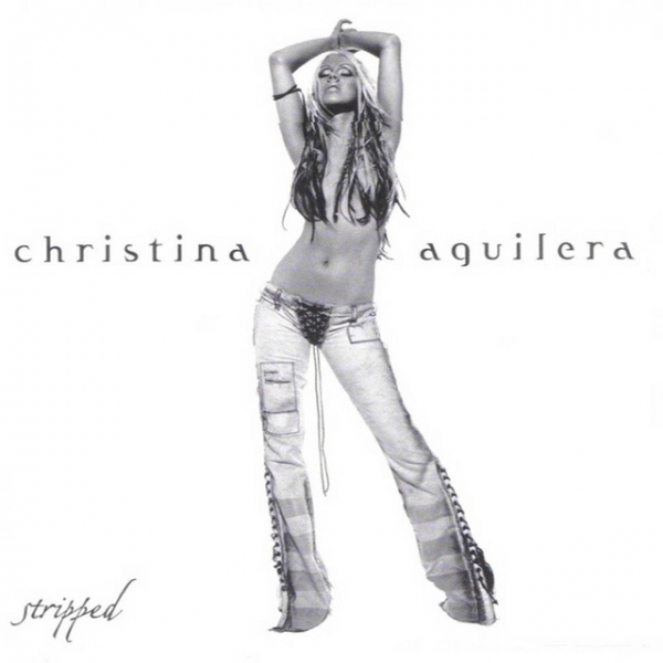 Christina Aguilera Stripped cover art