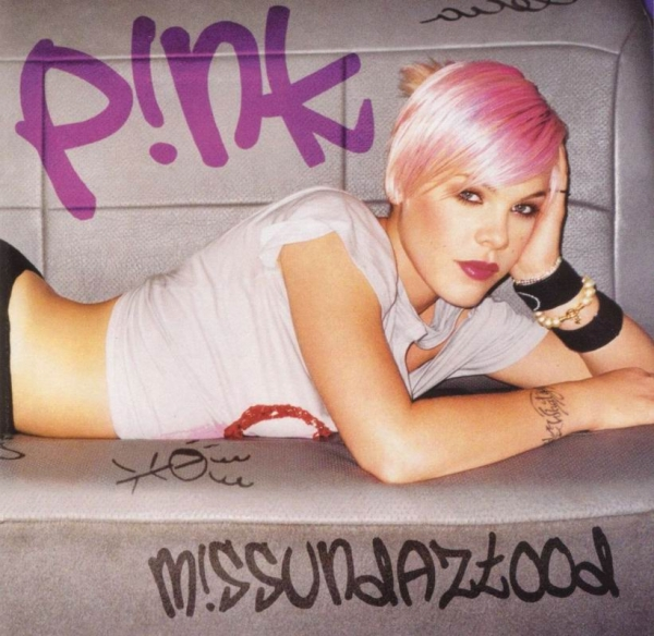 P!nk M!ssundaztood Cover Art