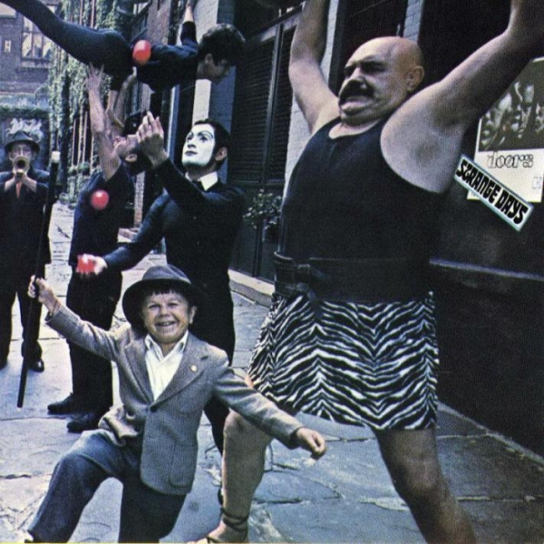 The Doors Strange Days cover art