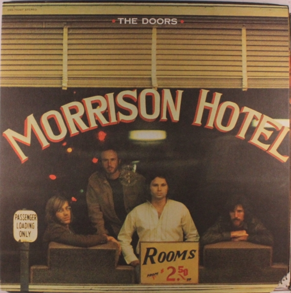 The Doors Morrison Hotel cover art