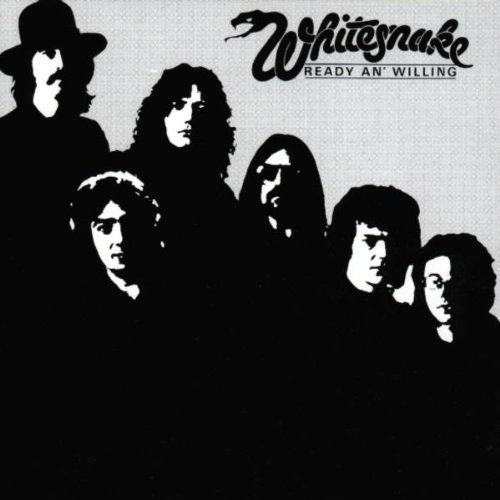 Whitesnake Ready an' Willing cover art