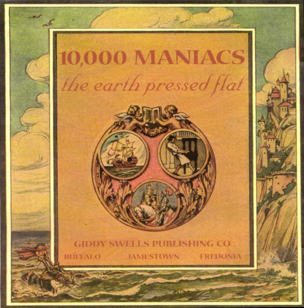 10,000 Maniacs The Earth Pressed Flat cover art