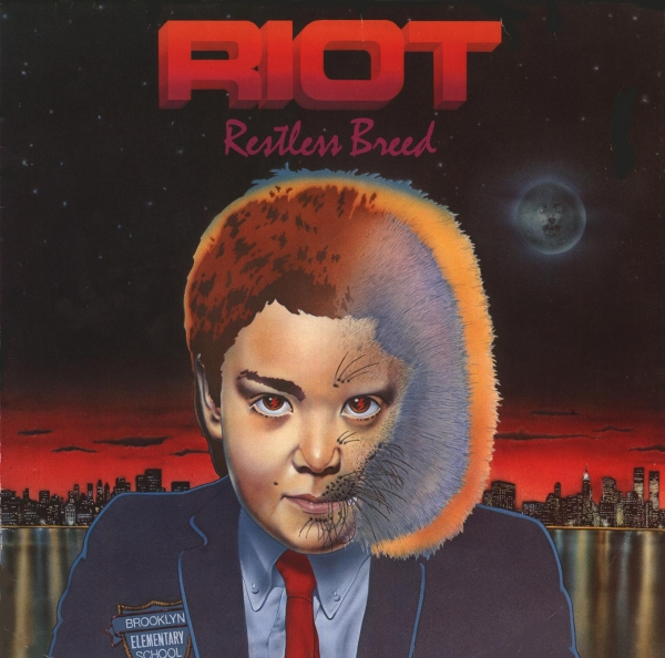 Riot V Restless Breed cover art