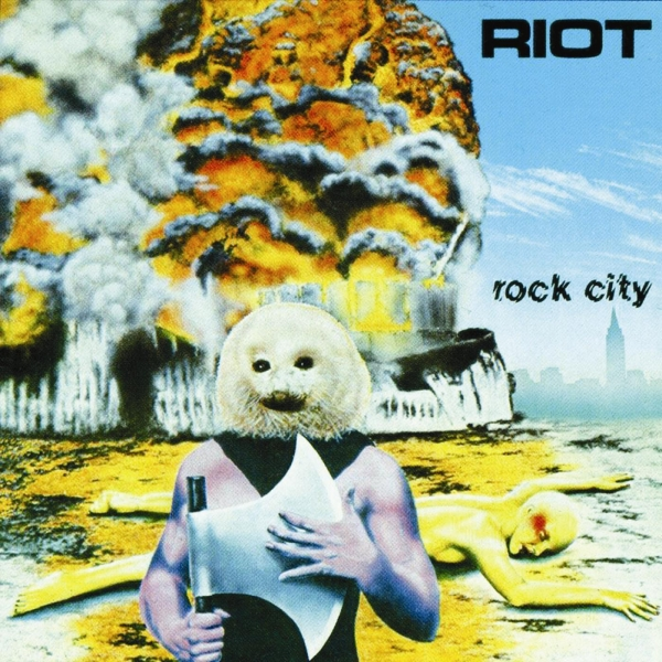 Riot V Rock City cover art