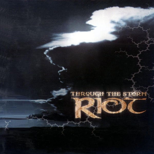 Riot V Through the Storm cover art