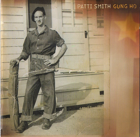 Patti Smith Gung Ho Cover Art