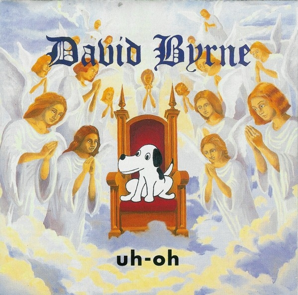 David Byrne Uh-oh Cover Art