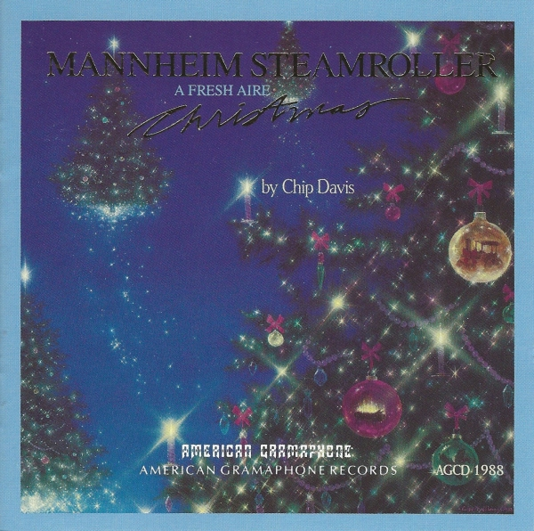 Mannheim Steamroller A Fresh Aire Christmas cover art