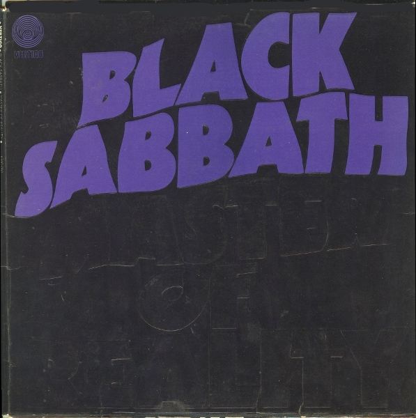 Black Sabbath Master of Reality cover art