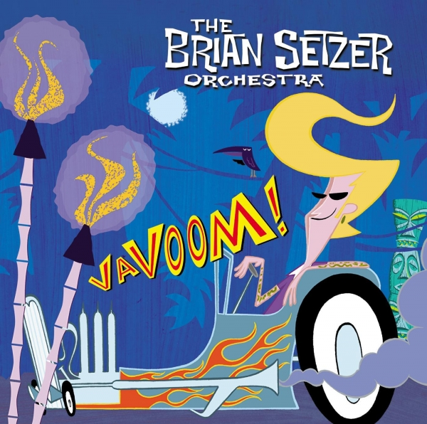 The Brian Setzer Orchestra Vavoom! Cover Art