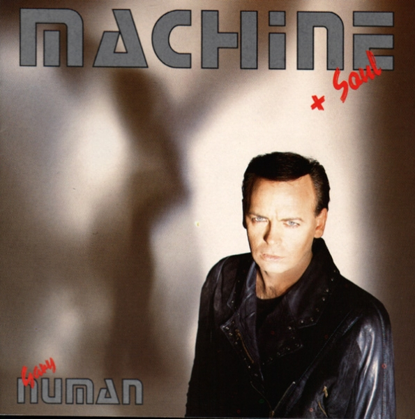 Gary Numan Machine + Soul Cover Art