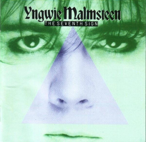Yngwie Malmsteen The Seventh Sign Cover Art