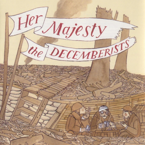 The Decemberists Her Majesty the Decemberists cover art