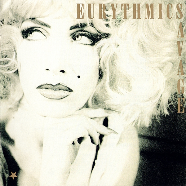 Eurythmics Savage cover art