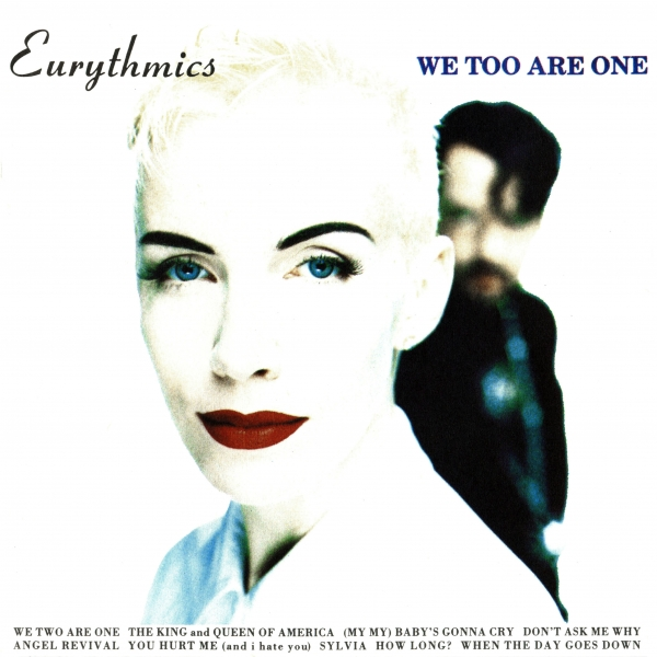 Eurythmics We Too Are One Cover Art