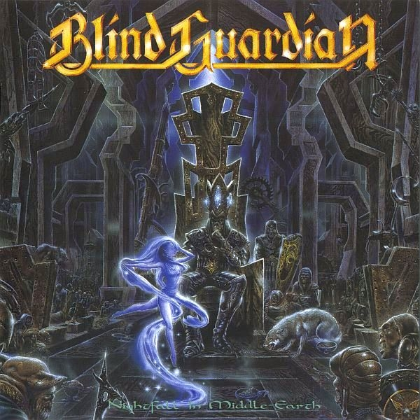 Blind Guardian Nightfall in Middle-Earth Cover Art