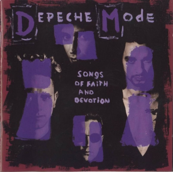Depeche Mode Songs of Faith and Devotion cover art