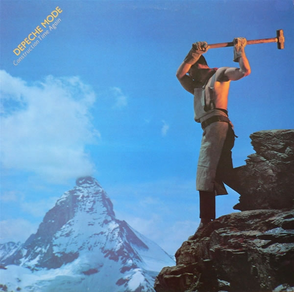 Depeche Mode Construction Time Again cover art