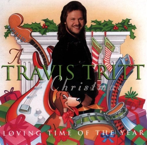 Travis Tritt A Travis Tritt Christmas: A Loving Time of Year Cover Art