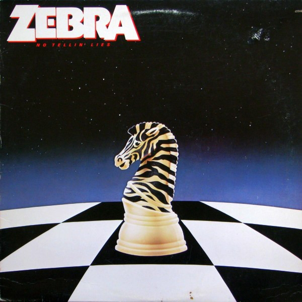 zebra No Tellin' Lies cover art