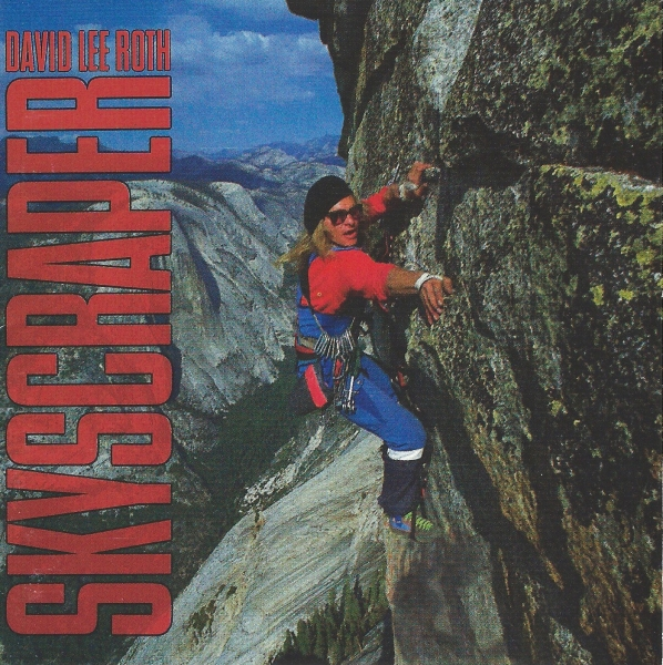 David Lee Roth Skyscraper cover art