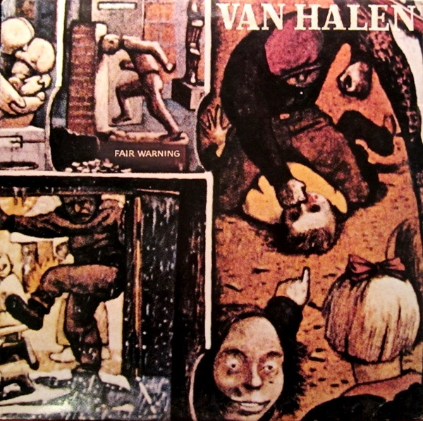 Van Halen Fair Warning cover art