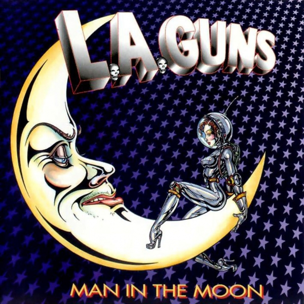 L.A. Guns Man in the Moon Cover Art