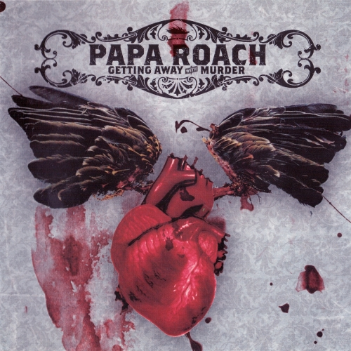 Papa Roach Getting Away With Murder cover art