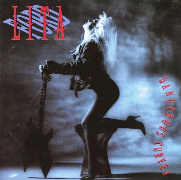 Lita Ford Dangerous Curves cover art