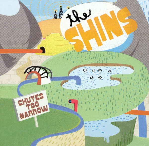 The Shins Chutes Too Narrow cover art