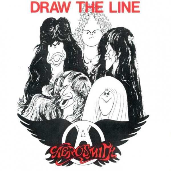 Aerosmith Draw the Line Cover Art