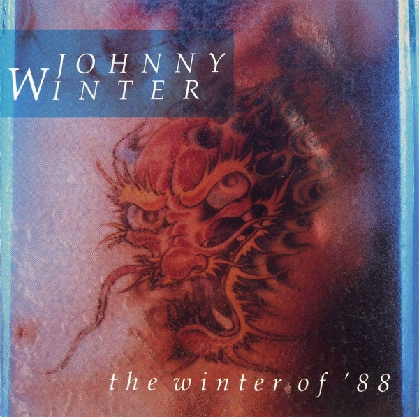 Johnny Winter The Winter of '88 cover art