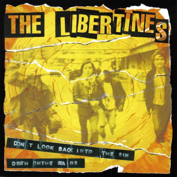 The Libertines Don't Look Back Into the Sun cover art