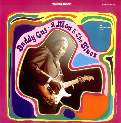 Buddy Guy A Man & the Blues cover art