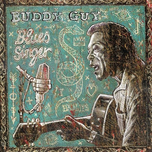 Buddy Guy Blues Singer cover art