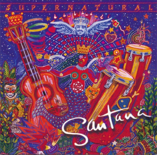 Santana Supernatural Cover Art