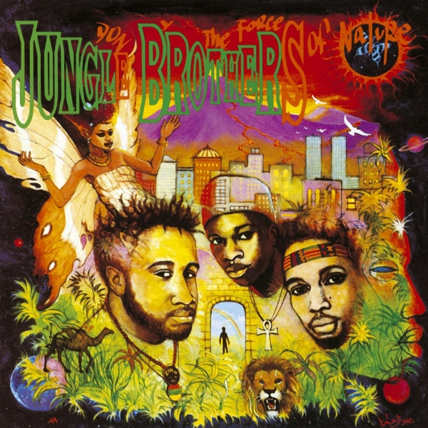 Jungle Brothers Done by the Forces of Nature cover art