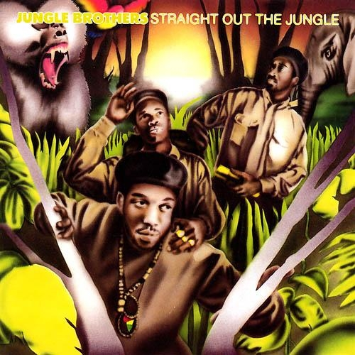 Jungle Brothers Straight Out the Jungle cover art