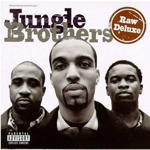 Jungle Brothers Raw Deluxe cover art