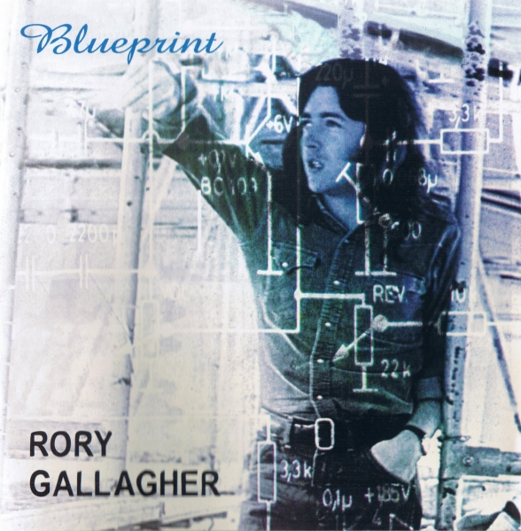 Rory Gallagher Blueprint cover art