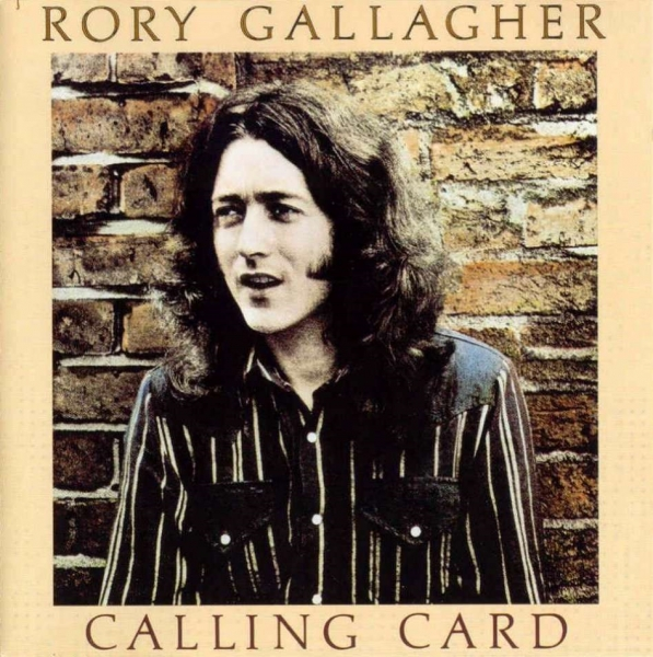 Rory Gallagher Calling Card Cover Art