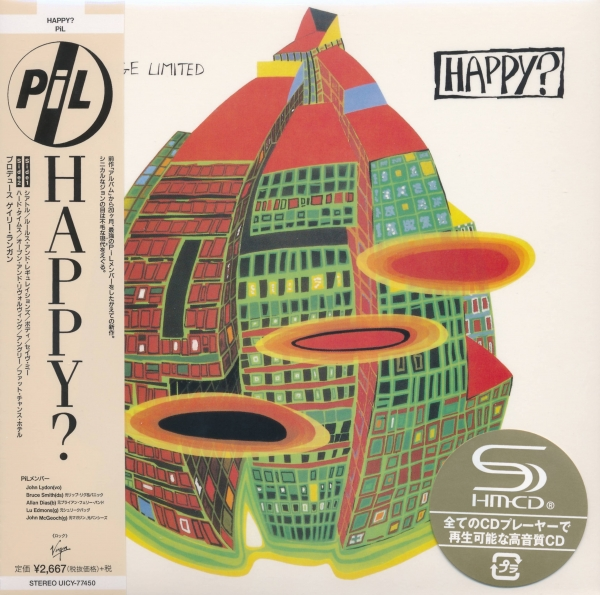 Public Image Ltd Happy? cover art