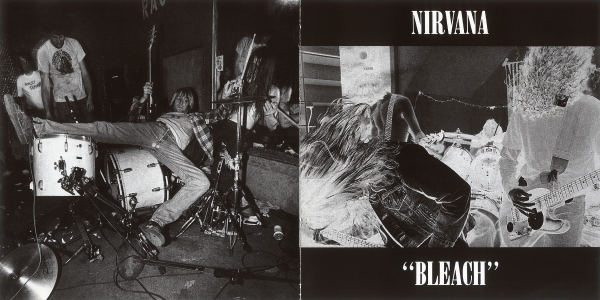 Nirvana Bleach cover art